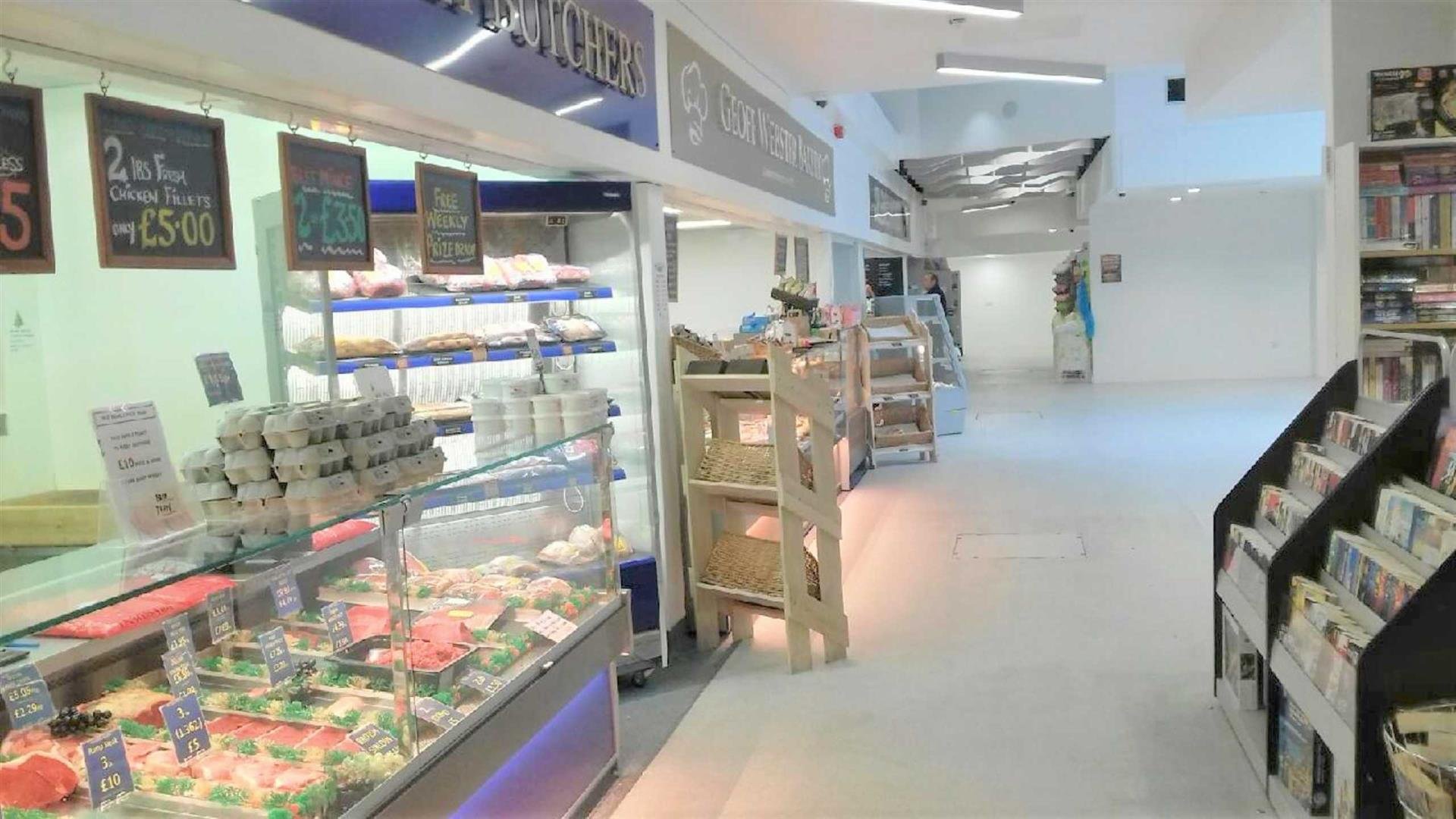 Stalls Within Idlewells Market Sutton In Ashfield NG17 1BP